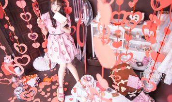 ゆめかわいいバレンタイン撮影