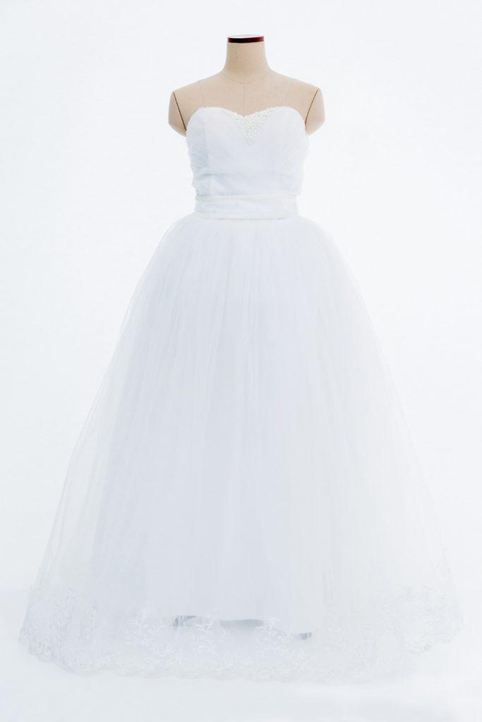 白ドレス①