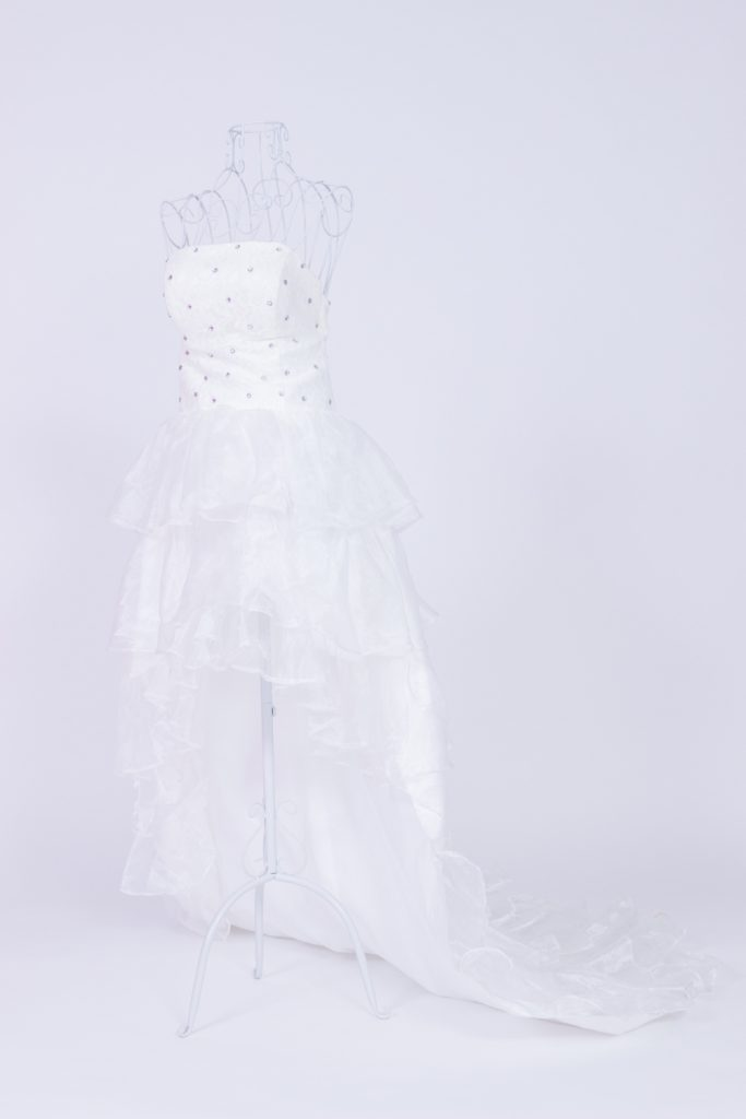 白ドレス②