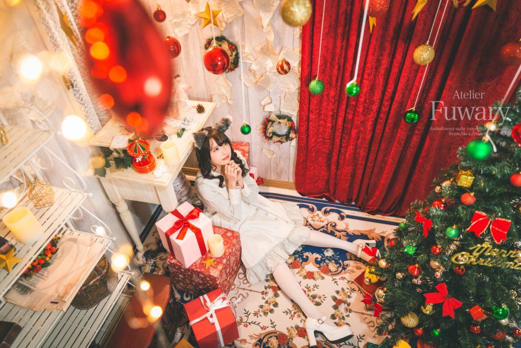 クリスマス作品撮り